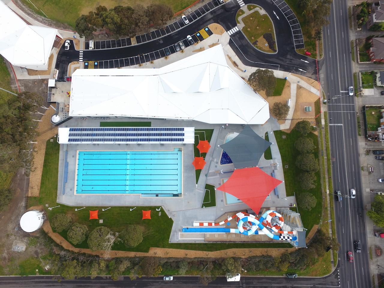 Oak Park Sports & Aquatic Centre – External Concrete Package